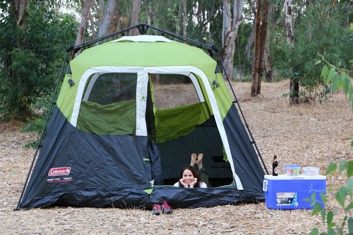 קמפינג עם ציוד של קולמן Coleman – אוהל וצידנית