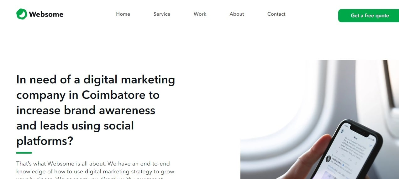 Websome - Digital Marketing Company