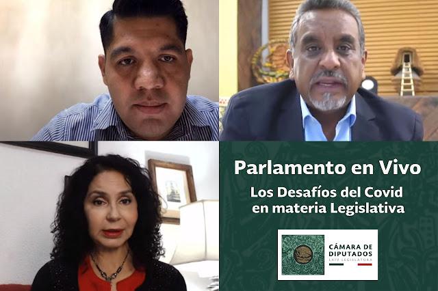 Destacan Emmanuel Reyes y José Luis Montalvo trabajo de la Comisión Permanente para enfrentar la pandemia