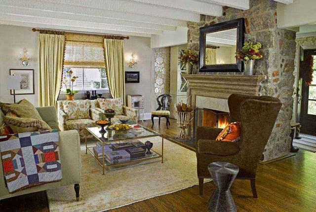 Ideas para la decoraci n de salas con fotos - Fotos de salas rusticas ...