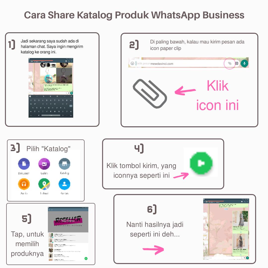 Cara share katalog produk di WhatsApp Business