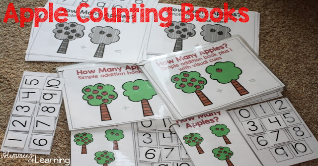 https://www.teacherspayteachers.com/Product/Apple-Counting-Books-Interactive-and-Differentiated-3345083