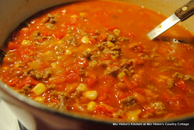 Ranch House Soup at Miz Helen's Country Cottage