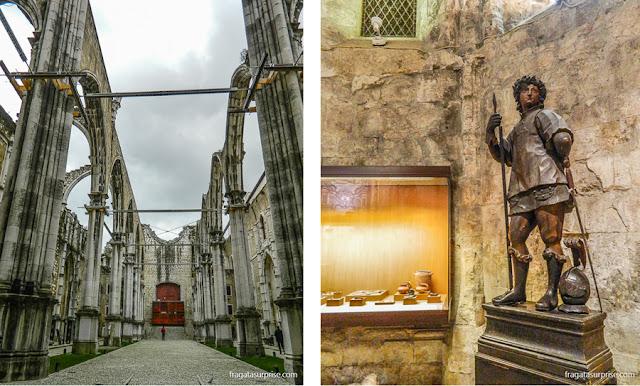 Lisboa: Convento do Carmo e museu de arqueologia
