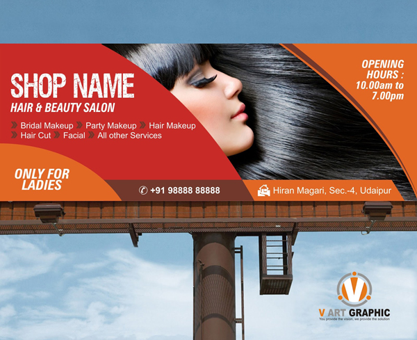 Beauty Salon Banner Template - V Art Graphic Best ...