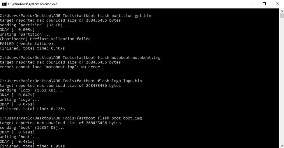 Flashear Motorola con Minimal ADB  Fastboot (CMD) paso a paso