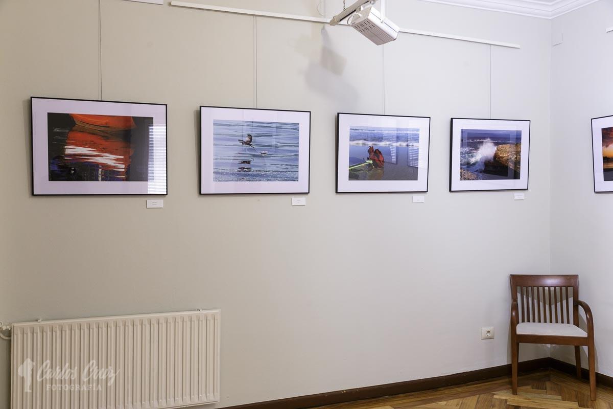 Grupo baz n fotograf a inauguraci n a mar a mares en for Oficina de turismo a coruna