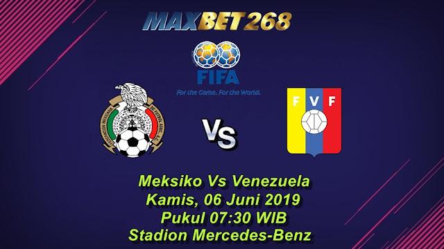 Prediksi Bola Meksiko Vs Venezuela, Kamis 06 Juni 2019 Pukul 07.30 WIB