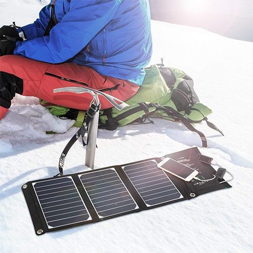 Chargeur solaire RavPower portable avec panneau solaire