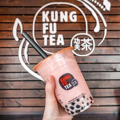 Kung Fu Tea bubble tea boba yum delicious