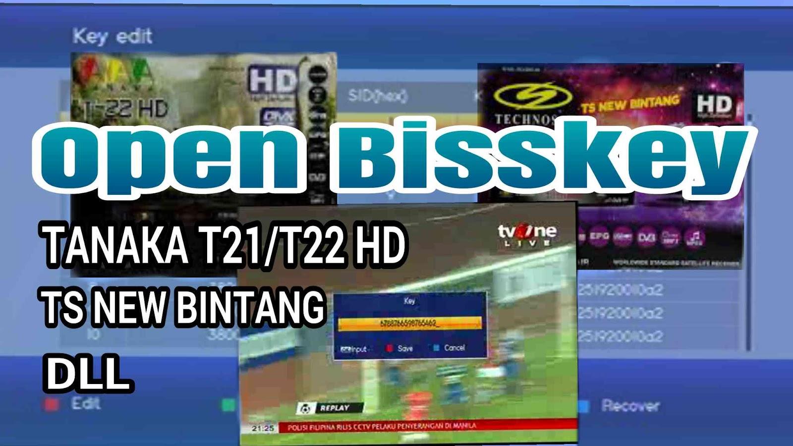 Cara isi Bisskey Tanaka T21 HD / T22 HD Jurasic - Parabolaindo com