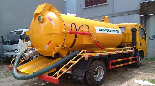 Thông hút bể phốt tại Nam Định ở đâu uy tín