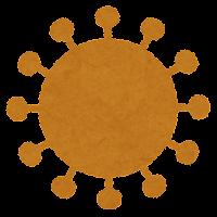 コロナウイルスの変異株のイラスト7