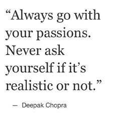 Follow Your Passion Quotes