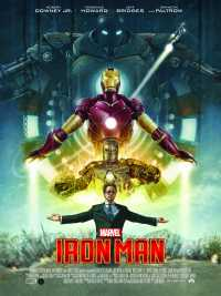 Iron Man (2008) Full Movies Hindi +Telugu + Tamil + Eng 480p