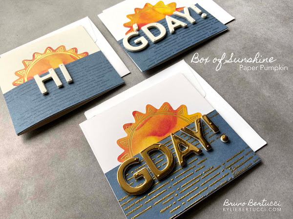 EVEN MORE Sunshine for You | Box of Sunshine Paper Pumpkin Kit