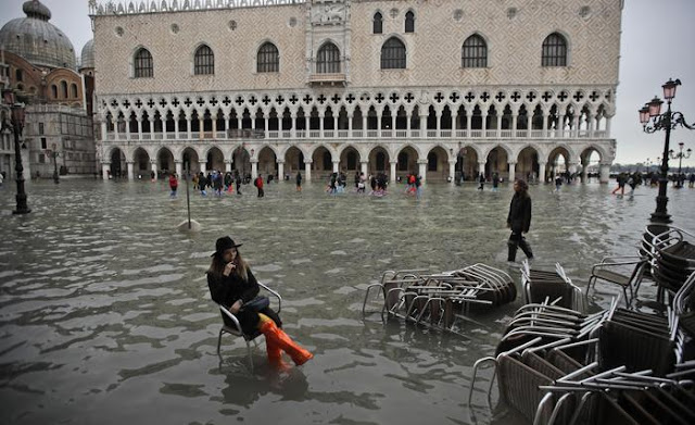 Venice on its knees as floods devastate city