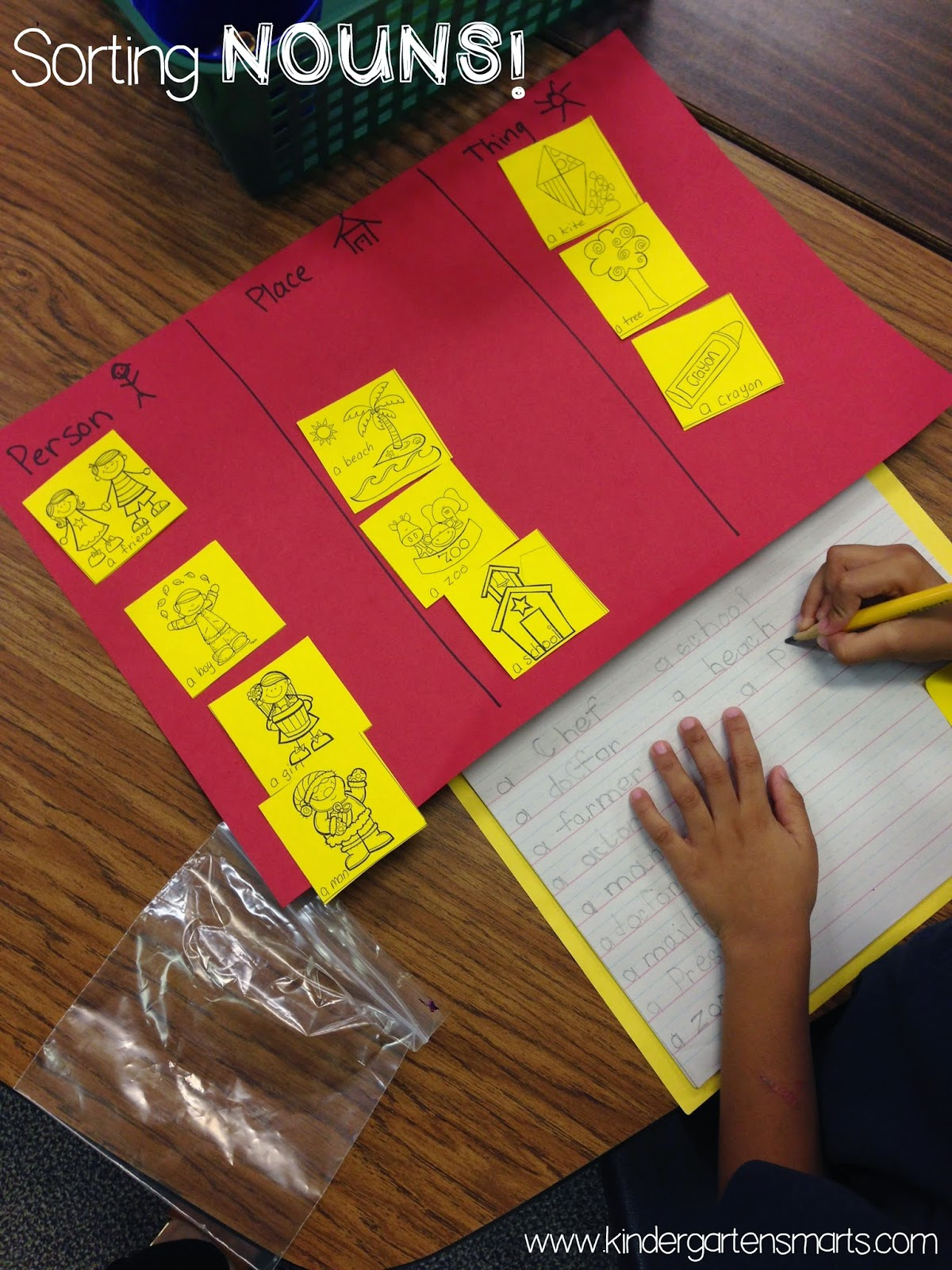 Kindergarten Smarts Grammar In Kindergarten