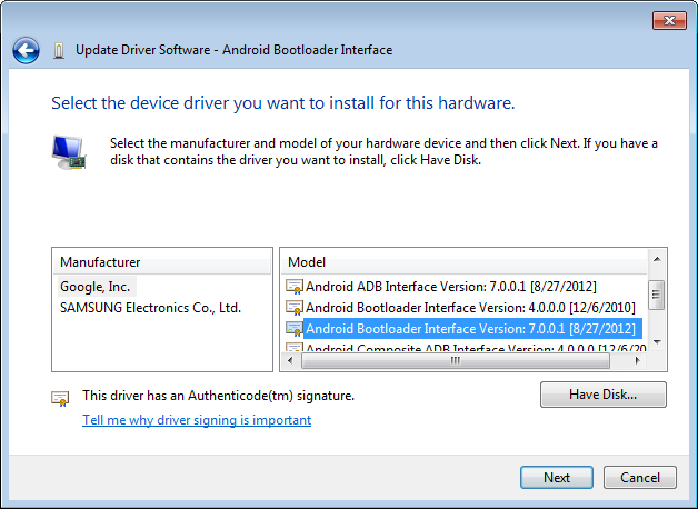 Fastboot Waiting For Device Samsung
