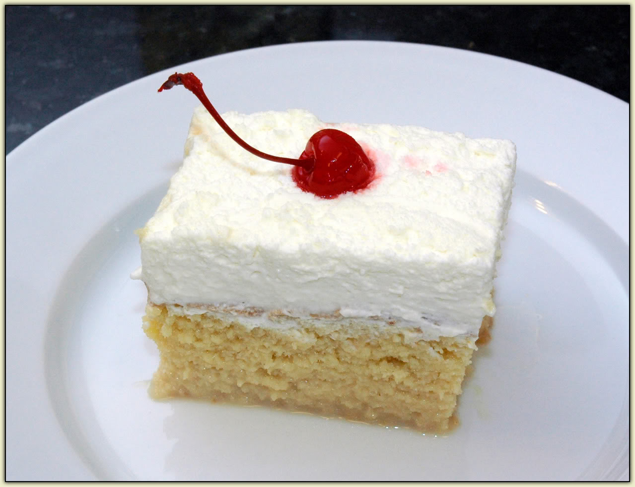 SoiKoi Blog - World Food Recipes: Three Milks Cake - Mexican Food