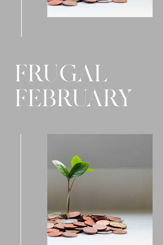 frugal february money saving challenge