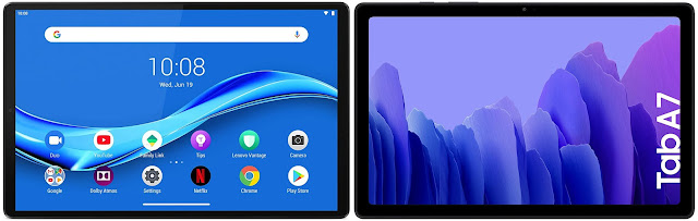 Lenovo Smart Tab M10 FHD Plus 128 GB vs Samsung Galaxy Tab A7 10.4 64 GB