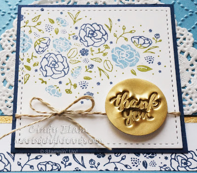 Wood Words, Hand Stamped, Heat Embossed, Dry Embossed, Stampin' Up!, Faux Sealing Wax Technique