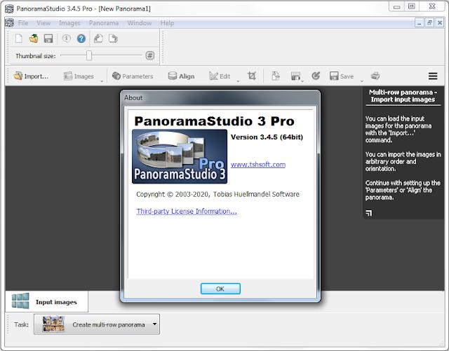Screenshot PanoramaStudio Pro 3.4.5.295 Full Version