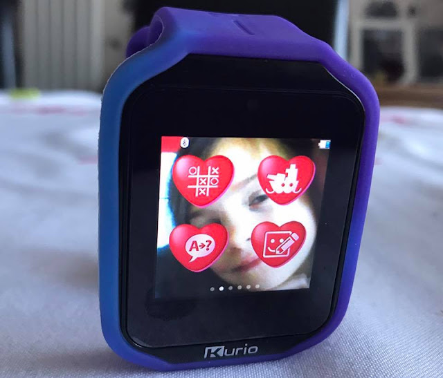 photo background on kurio smartwatch 2.0