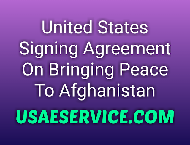 United States Agreement On Peace in Afghanistan