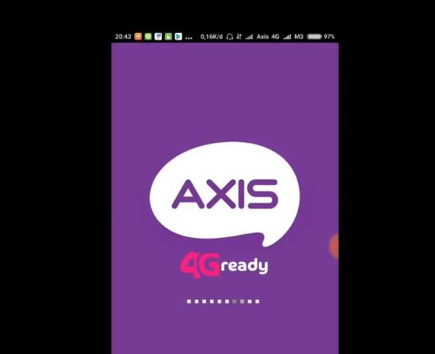 Paket Internet AXIS Murah Dengan Melakukan Registrasi