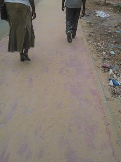 Mombasa streets.