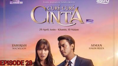 Tonton Drama Curi-Curi Cinta Episod 28 (Akhir)