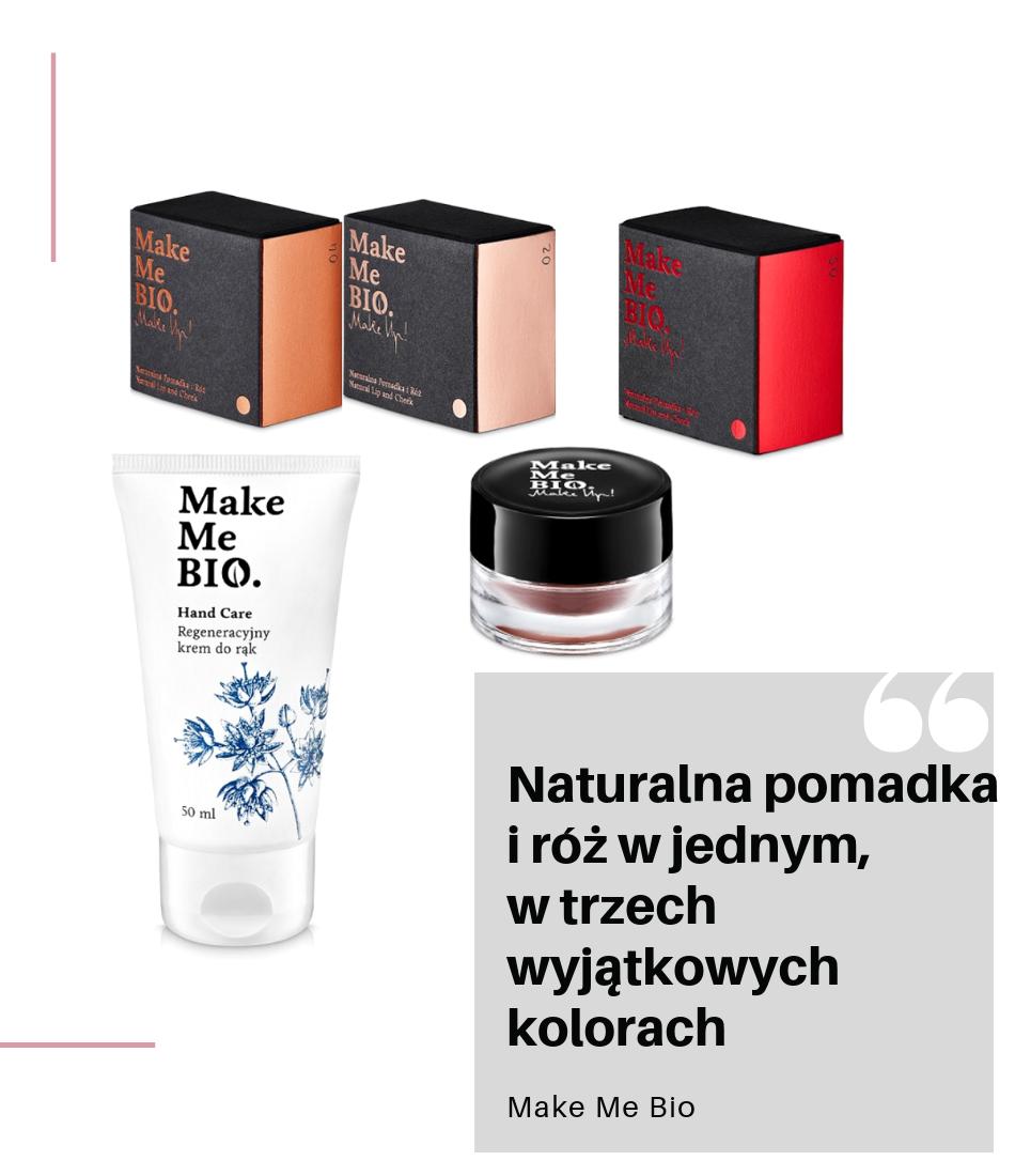 Polskie kosmetyki ranking nowości od Make Me Bio