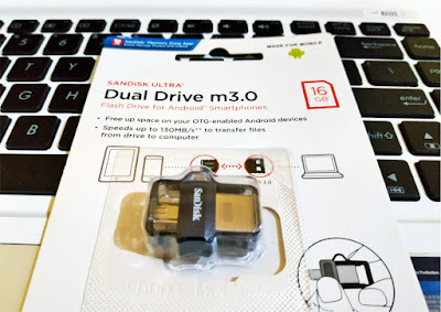 FlashDisk Sandisk Ultra Dual Drive m3.0 - OTG Flash Drive