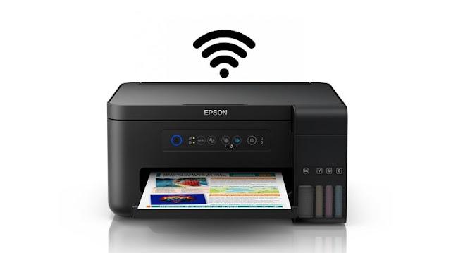 Cara Koneksi WiFi Printer Epson L4150