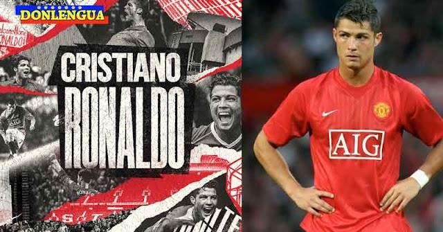 El Rey Cristiano Ronaldo regresó al Manchester United tras 12 años de triunfos