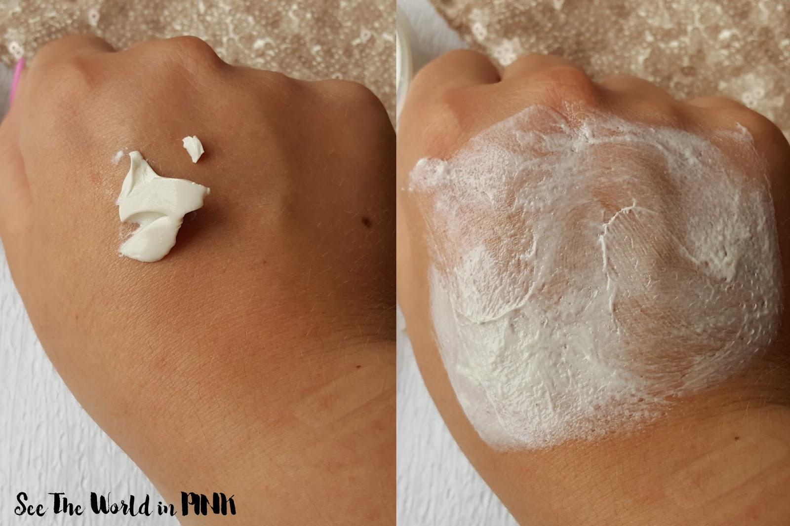 "Skincare Sunday - NEW Lush Jelly Face Mask ""Bunny Moon"" Try-on and Review!"