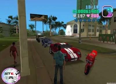 تحميل لعبة GTA Vice City جاتا فايس سيتي للكمبيوتر