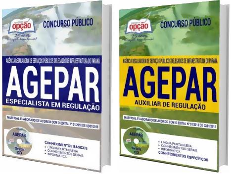 Apostila Concurso AGEPAR-PR 2018 - Especialista e Auxiliar de Regulação