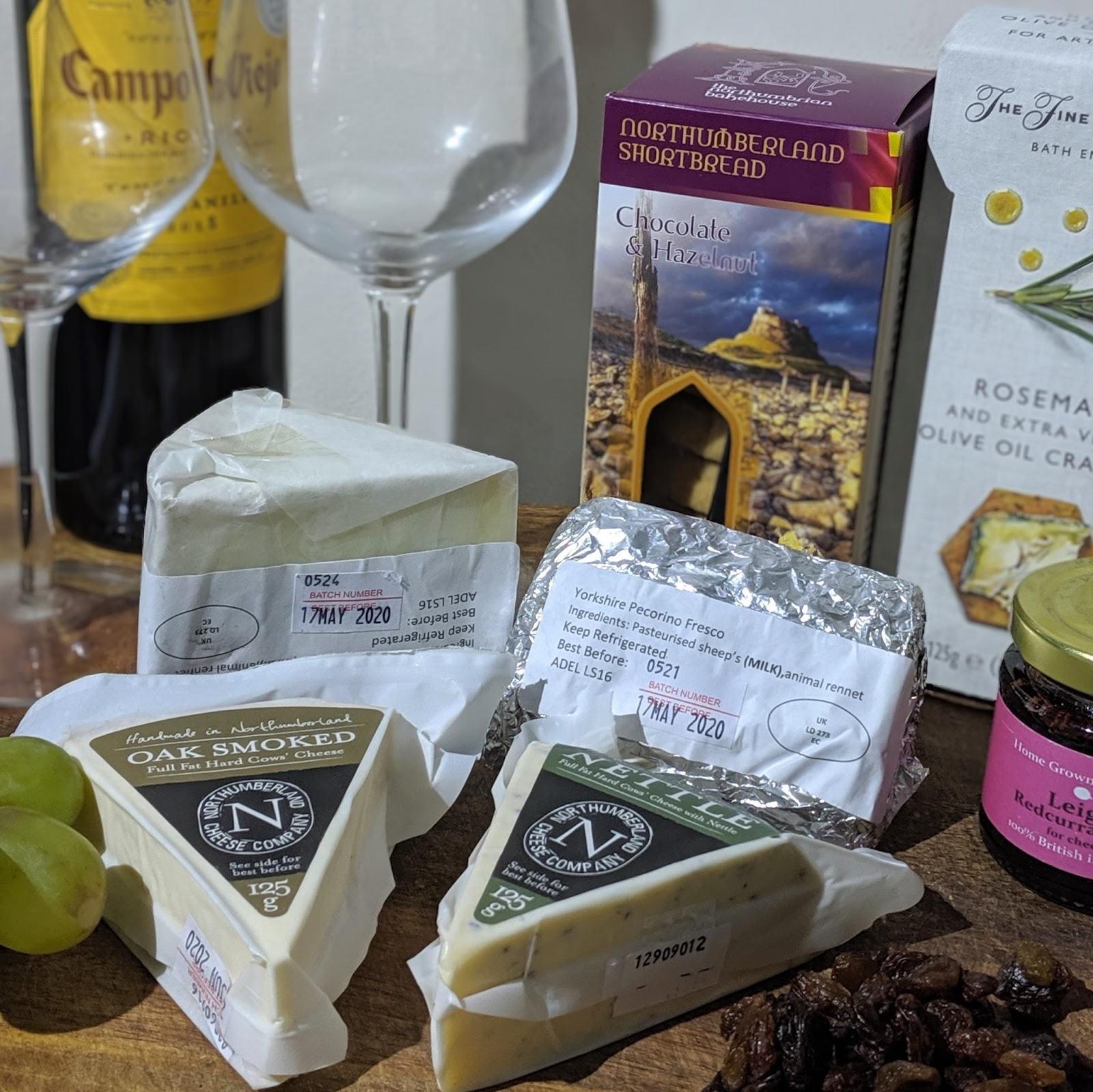 North East Father's Day Gift Ideas (Delivered)  - northumberland cheese