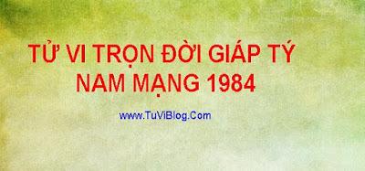 Tử Vi Trọn Đời Giáp Tý 1984