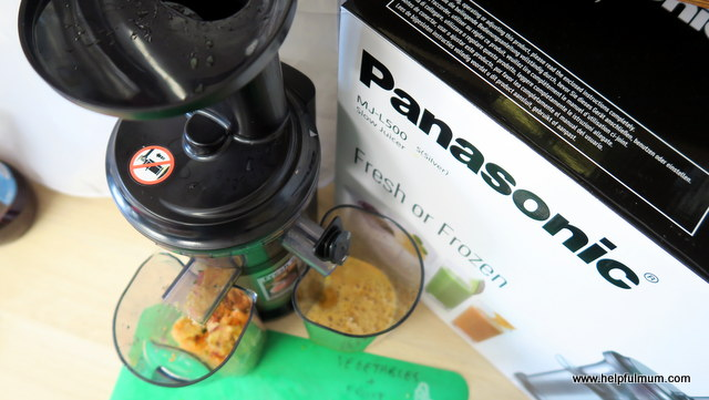 Panasonic slow juicer