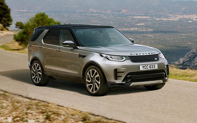 Land Rover Discovery là chiếc SUV sang trọng đạt chuẩn EURO NCAP