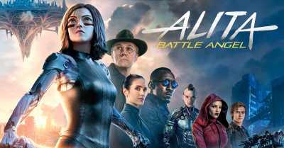 Alita Battle Angel 720p Hindi - Tamil - Telugu - Eng Movies Download