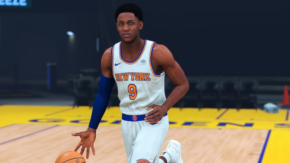 RJ Barrett Cyberface,  Hair Update and body Model By CHession11 [FOR 2K21]
