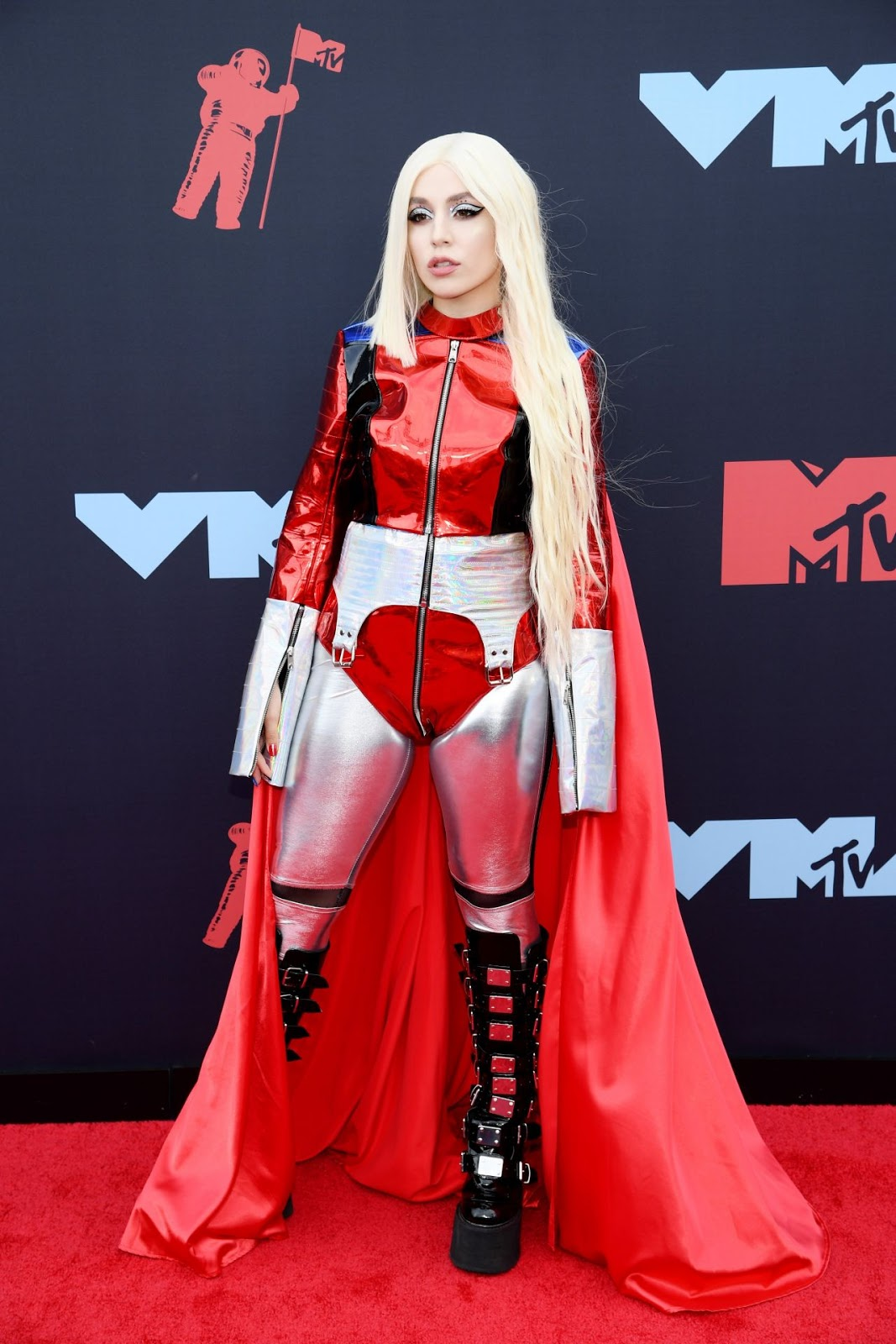 Ava Max turns superhero for the 2019 MTV VMAs