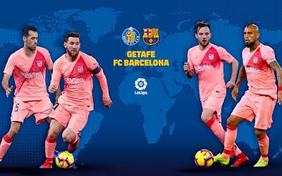 مشاهدة مباراة برشلونة وخيتافي بث مباشر اليوم 28-9-2019 في الدوري الاسباني