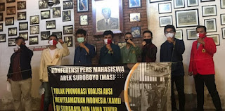 Mahasiswa Arek Suroboyo (MAS) 'Yang Tak Terhitung Jumlahnya' Ini Tegaskan Menolak KAMI
