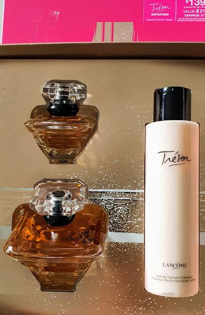 Set nước hoa và Lotion nước hoa Lancome Tresor - Hàng nội địa Mỹ